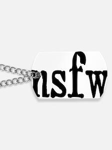 nsfwrectangle Dog Tags