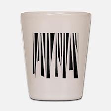 Funky Stripes copy Shot Glass