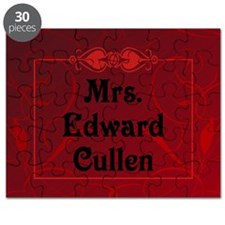 Mrs. Edward Cullen Pillow Case Puzzle