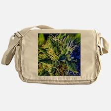 glistening trichomes Messenger Bag