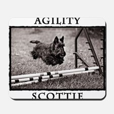 Jump - Agility Scottie Dog Mousepad