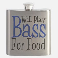 Will Play Bass Flask