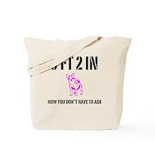 Short Girl Tote Bag