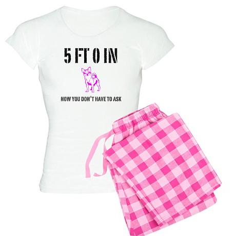 Funny Short Girl Women's Light Pajamas