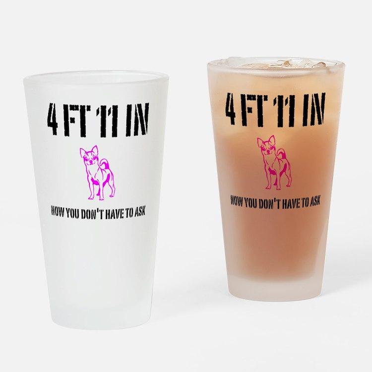 Funny Short Drinking Glass