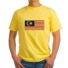 Malaysia Flag T Shirts T