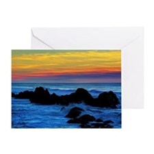 Rocks in the Surf Greeting Card