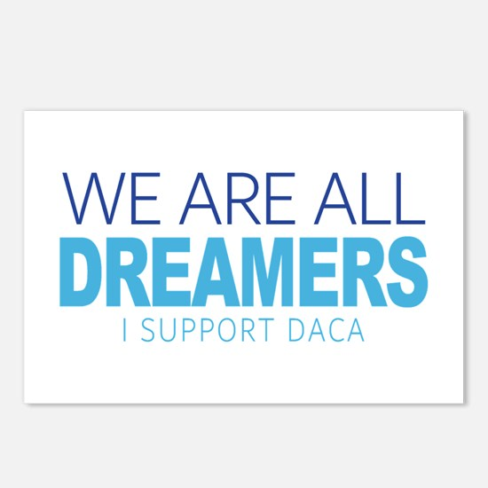 We Are All Dreamers Postcards (Package of 8)