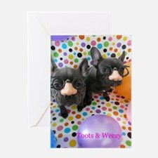Toots & Weezy Greeting Card