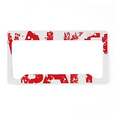 Walker Bait License Plate Holder