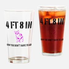 Funny Short Girl Drinking Glass