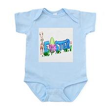 Easter Egg Rabbit Design Infant Bodysuit