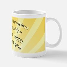 You Are My Sunshine Pillow Case Mug