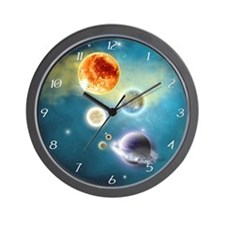 nss_h_wooden  Wall Clock