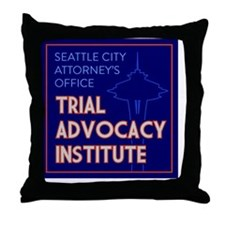 SCAO TAI: Solid Throw Pillow