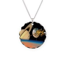 Computer artwork of Cassini  Necklace