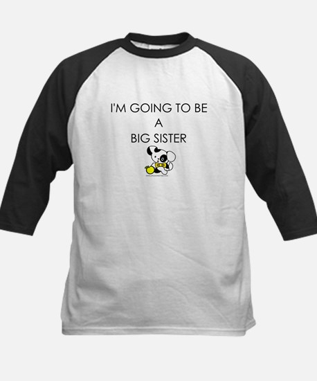 BW puppy - going to be big sister Kids Baseball Je