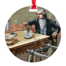 Lavoisier making water Ornament