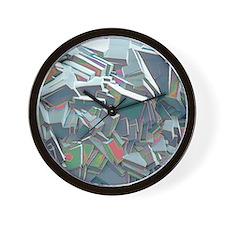 Sucrose crystals, SEM Wall Clock