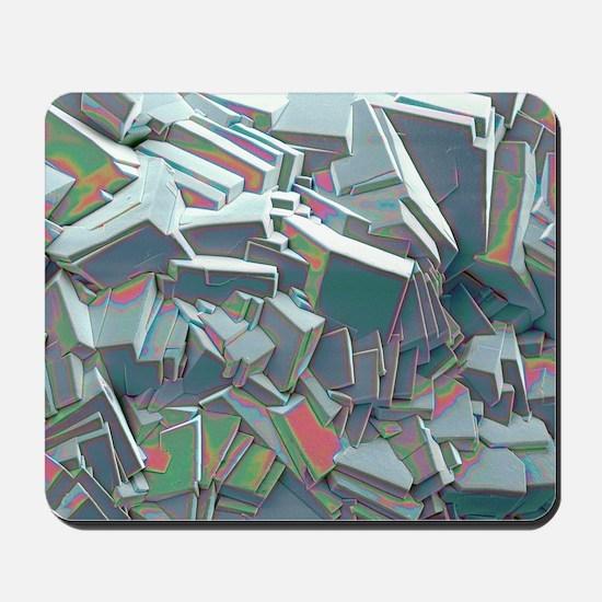 Sucrose crystals, SEM Mousepad