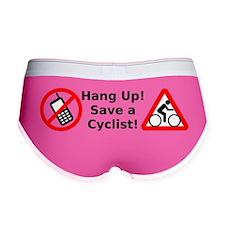 Hang Up! Save a Cyclist! Women's Boy Brief