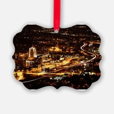 Panorama view of Roanoke Virginia Ornament