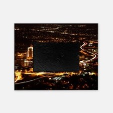 Panorama view of Roanoke Virginia Picture Frame