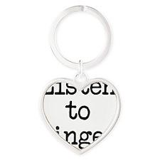 Listen to Ginger Heart Keychain