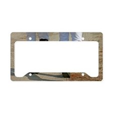 Riding Boots-5x7 License Plate Holder