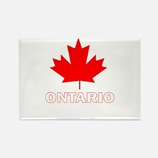 Ontario Rectangle Magnet