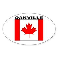 Oakville, Ontario Oval Decal