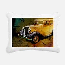 Classic Time Traveling Rectangular Canvas Pillow