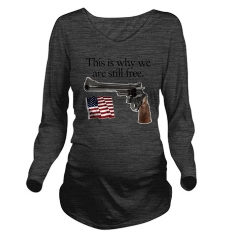 Guns keep our freedo Long Sleeve Maternity T-Shirt