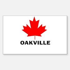 Oakville, Ontario Rectangle Decal