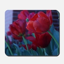 Red Flowers Mousepad
