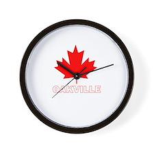 Oakville, Ontario Wall Clock