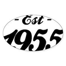 Established 1955 - Birthday Decal