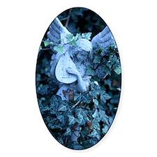 Mandolin_Angel_Statue_In_Ivy Decal