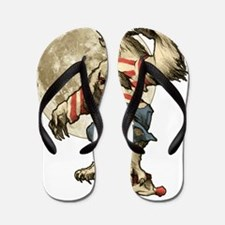 Werewaldo Flip Flops