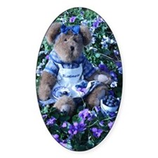 Bluebeary_In_Purple_Flowers Decal