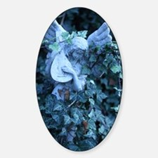 Angel_Statue_With_Mandolin_In_Ivy Decal