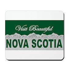 Visit Beautiful Nova Scotia Mousepad