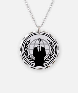 Anonymous Logo Necklace