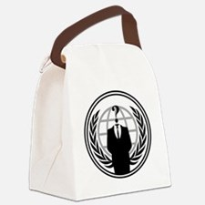 Anonymous Logo Canvas Lunch Bag