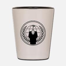 Anonymous Logo Shot Glass