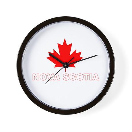 Nova Scotia Wall Clock