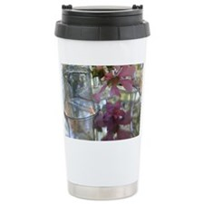 Hollyhock Remembers Cel Travel Mug