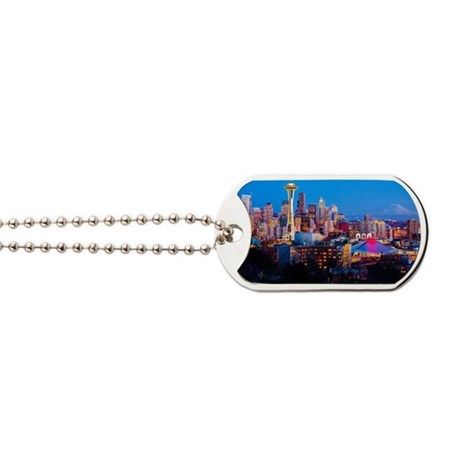 Seattle downtown Dog Tags
