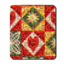 Heart Patchwork... Mousepad