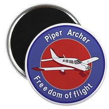 Piper Archer Abzeichen Stoffaufnaher Badges Magnet